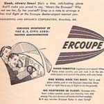 1946 Frugal Ercoupe Ad