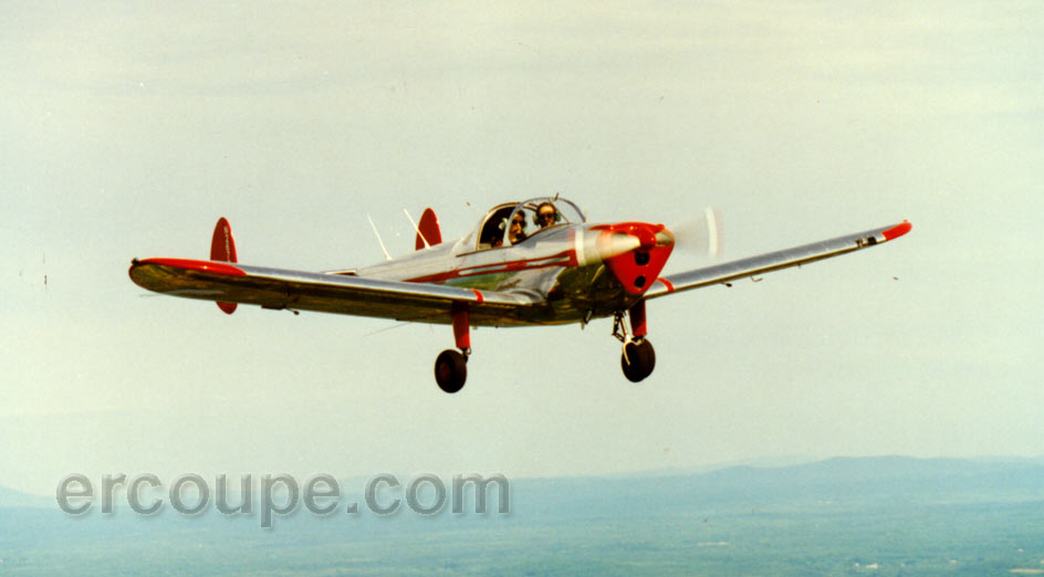 Ercoupe in-flight picture