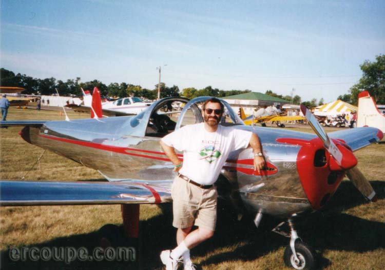 Picture of David at Oshkosh Airventure 2001