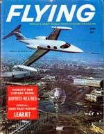 April 1964 Flying Magazine Cover