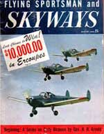 Skyways Aug 1947 Cover
